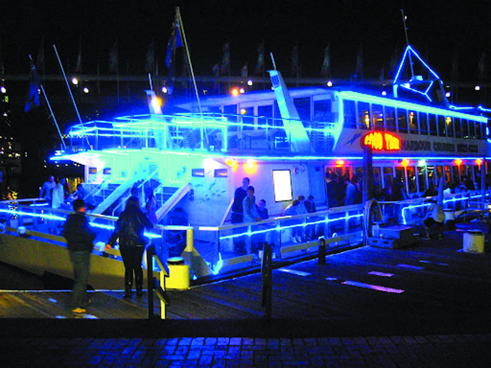 Boat party lighting system