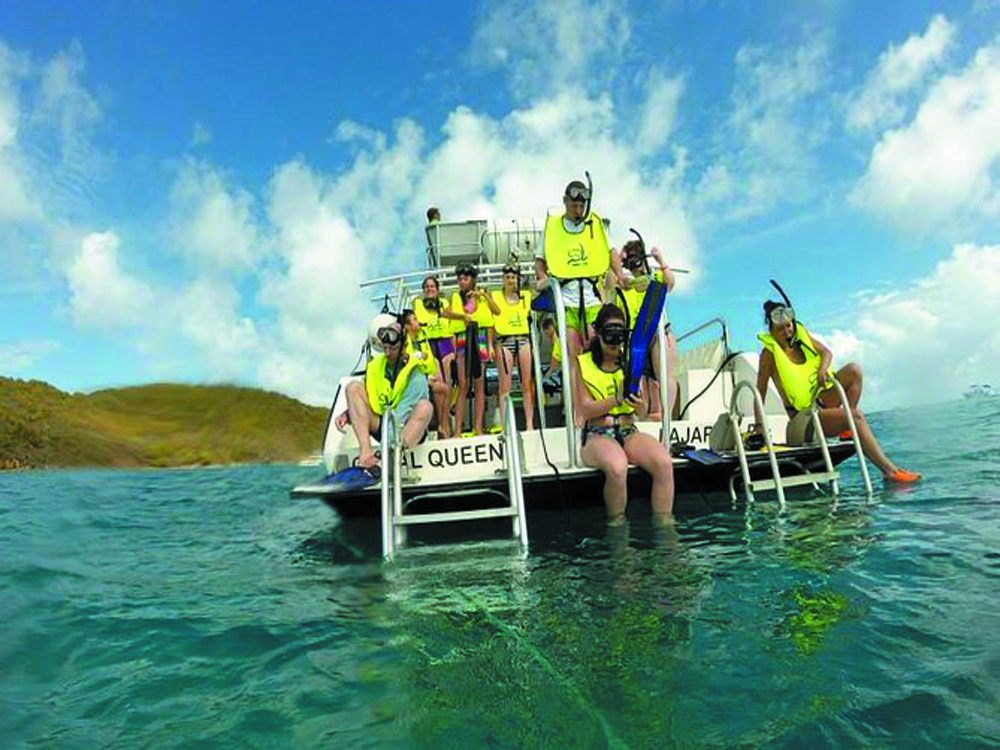 Best snorkeling on your boat