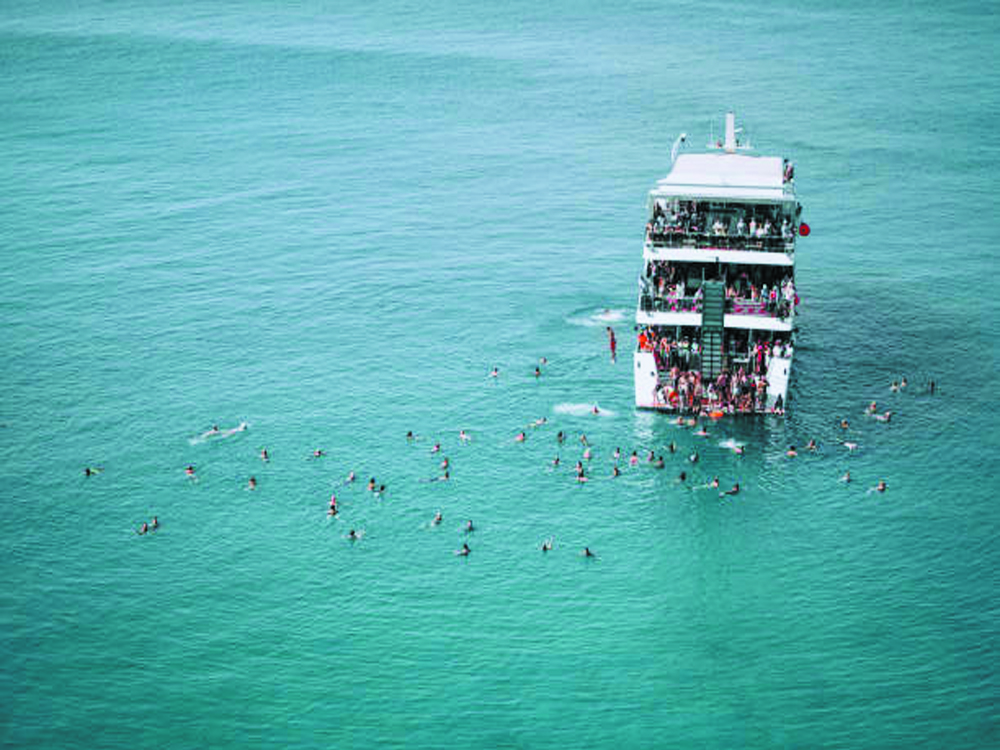 Best party boat Thailand