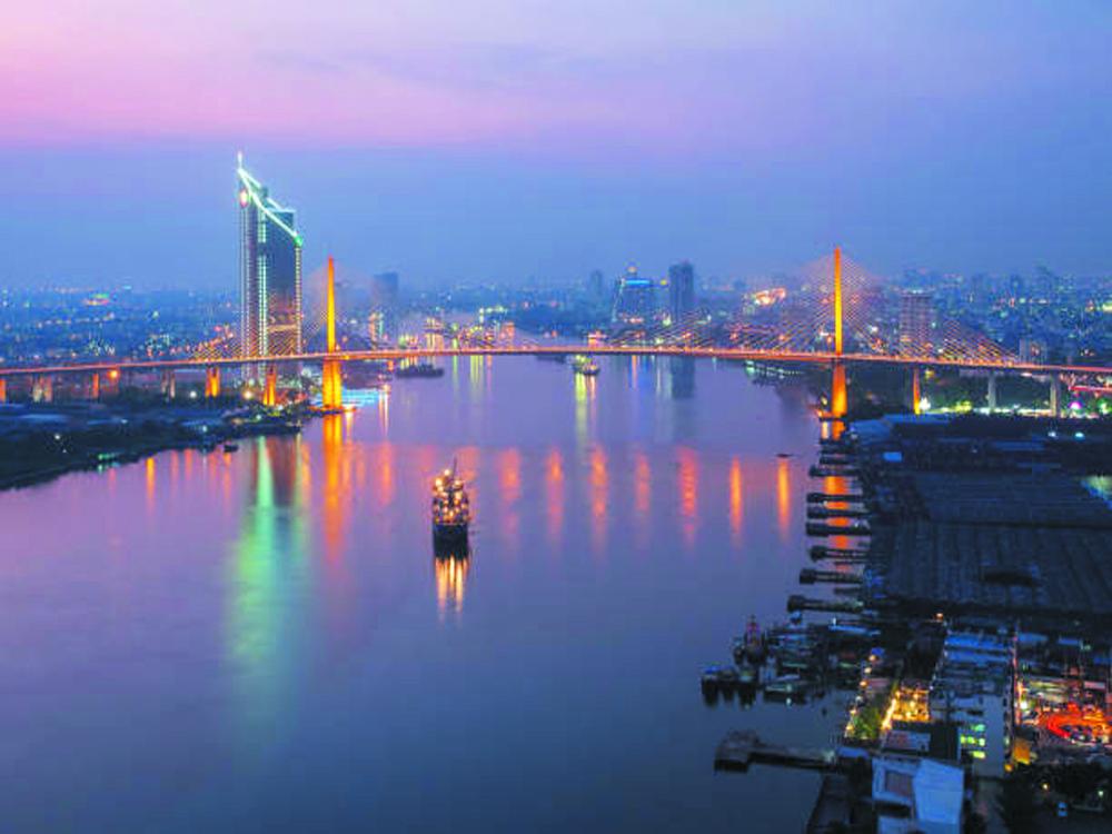 Boat party in Bangkok