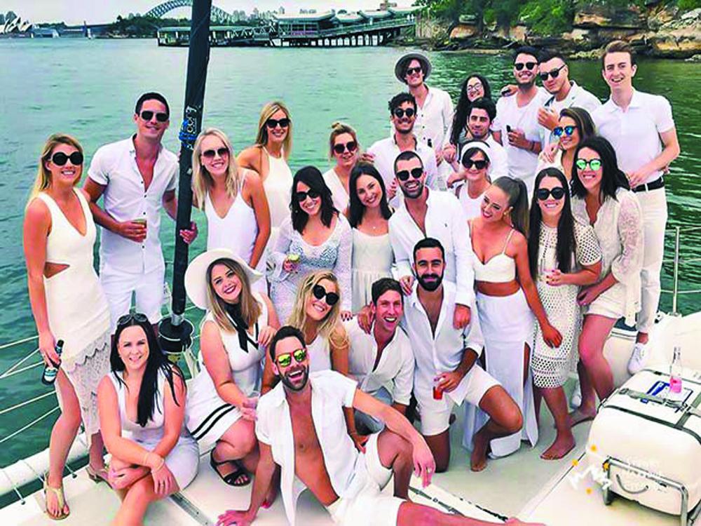 Company boat party Thailand