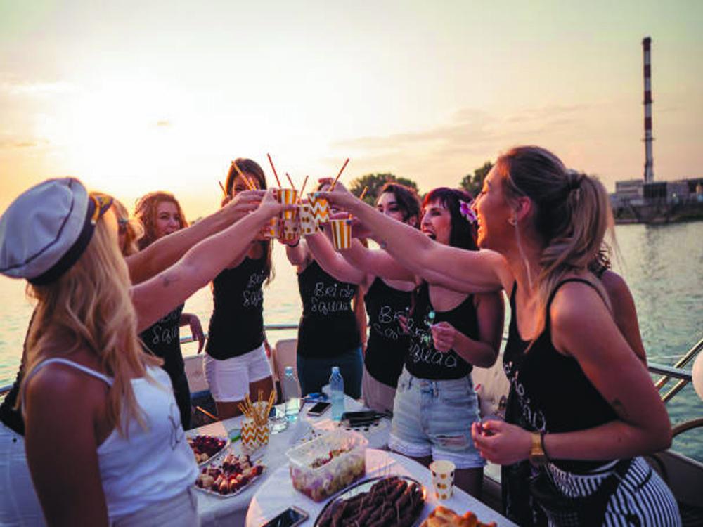 Bachelorette boat party