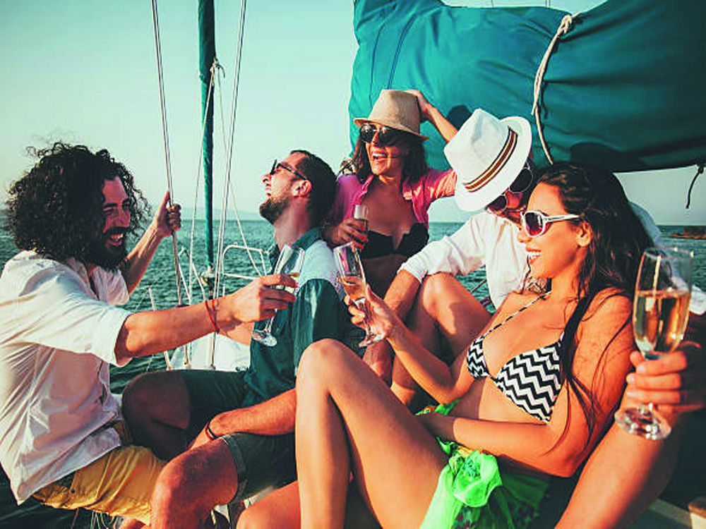 birthday party on your boat